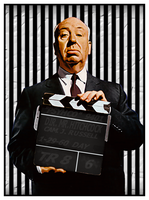 Alfred Hitchcock by PsycoJimi