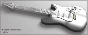 Stratocaster meta... by jylhis by 3D-Asuarus