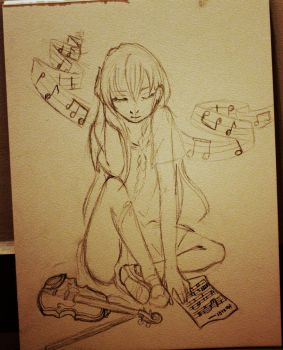 Classical music  My sketch by Alice005