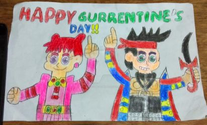 Jake and Doremi: Happy Gurrentine's Day by BlueCrystalSpider