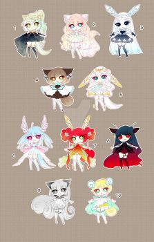 [CLOSED TY] Adoptable 81 - Fragile by Puripurr
