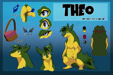 Theo reference -gift- by blueharuka
