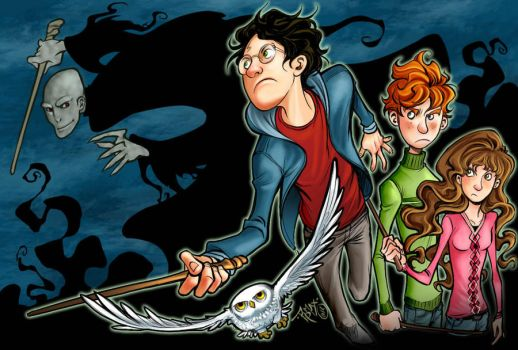Harry Potter by Romax25