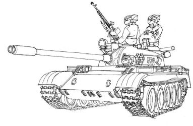 T-54 by A-Teivos