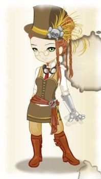 If I were an anime steampunk by Emberlution