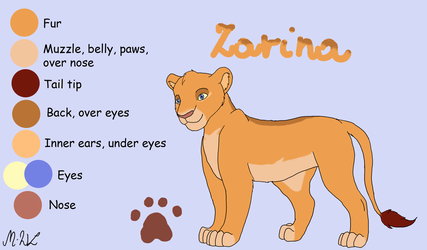 Zarina - contest entry ADOPT OPEN by M-WingedLioness