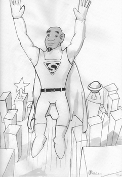 New Superman by Brady-Kj