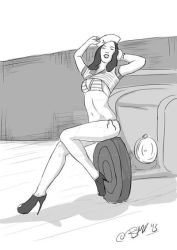 Pin-Up by remqc