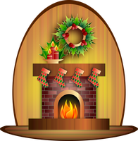 Christmas Fireplace by Viscious-Speed