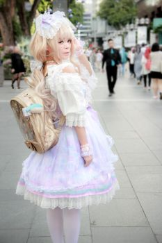 Casual - Sweet Lolita by Xeno-Photography