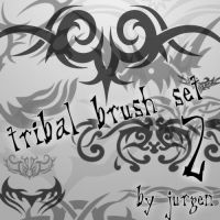 Tribal Brush Set 2 by narvils