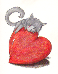 Heart Hugging by Msterope
