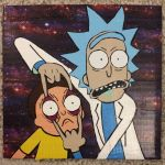 Rick and Morty (duct tape) by TheDucttapeBassist