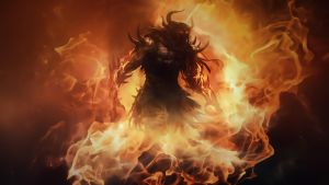 Guild Wars 2 Fire Lord Wallpaper by iamsointense