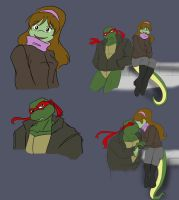Raph and Mona Sketches by Ty-Chou