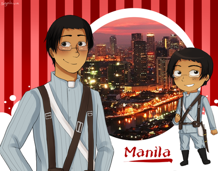 Manila OC Profile by sigalawin