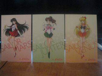 Sailor moon cards  set 2 front by starfire9467