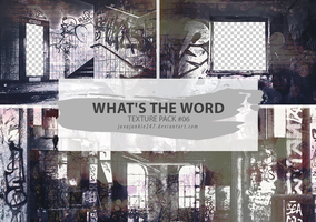 Textures #06 - What's The Word by JJ-247