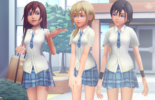 KNX School Uniforms DL by Reseliee