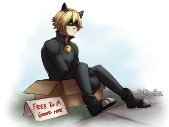 Free to a Good Home by RaeDrawsStuff