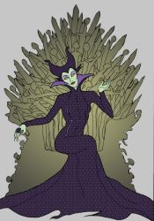Maleficent GoT crossover by lecoeurblanc