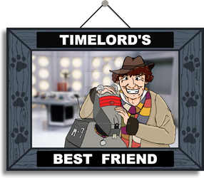 Timelord's Best Friend (Color) by wanderingent