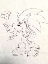 Sonic Sketch by audiobrainiac