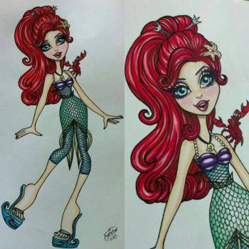 MH Style Ariel by lovelyzitalee
