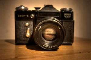 Zenit-E Camera. by jon3782001