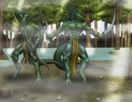 The Warriors of the Swamp by SymbolHero
