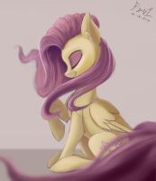 Speedpaint - Fluttershy by FoughtDragon01