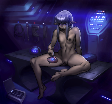 Naal fixing herself by blackmyst
