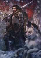 Jon Snow by Drawslave