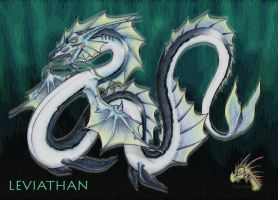 Leviathan Water Summon by pearlzu