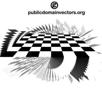 Checkered vector graphics public domain by publicdomainvectors