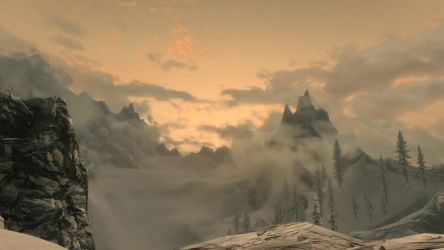 The Beauty of Skyrim 3 by HelixIce