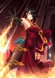Cinder Fall by ADSouto