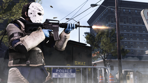 Heat PAYDAY 2 by evgenyprice
