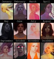 Summary (of unfinished stuff) 2016 by mibou