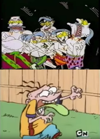 Eddy's Reaction to the Brothers Grunt by RedheadXilamGuy