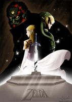 The Legend of Zelda by Tionniel