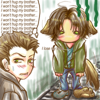 SPN:303:puppy lose a shoe by sau1412
