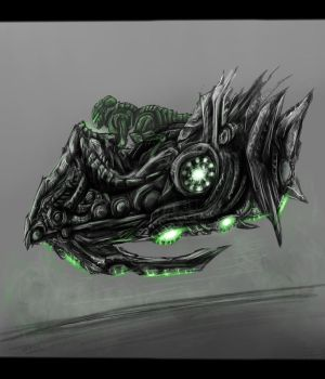 Toranus - Hover Racer (Military Version) Concept by SwarmCreator