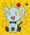 Shinx wallpaper colored by Animebirdy