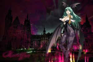 Wallpaper Morrigan Sugar by Gabiito13