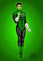Green Lantern by Stone-Fever