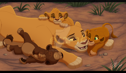 The Lion King - Time With Mom by TC-96