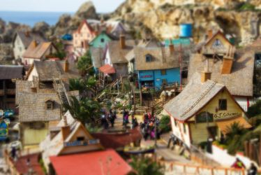 Popeye Village by Sockrattes