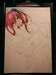 ERZA SCARLET wip by revinee