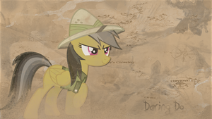 Daring Do The land of sand by LeonBrony